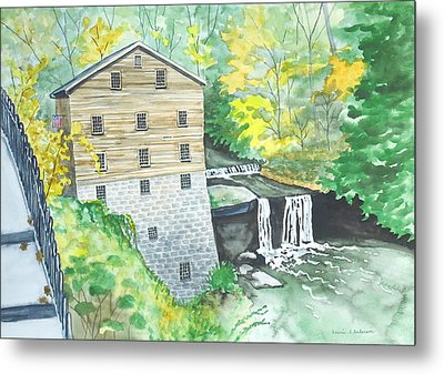 Lanterman's Mill - Mill Creek Park Metal Print