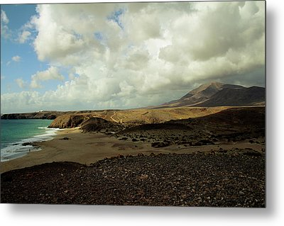 Lanzarote Metal Print by Cambion Art