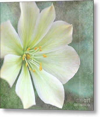 Large Flower Metal Print