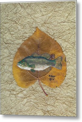 Large Mouth Bass #3 Metal Print by Ralph Root