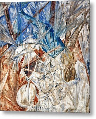 Larionov: Glass, 1912 Metal Print by Granger