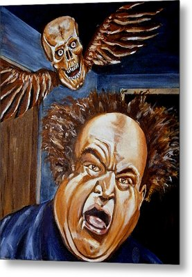 Larry Fine Metal Print