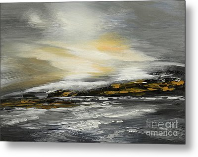 Lashed To Windward Metal Print