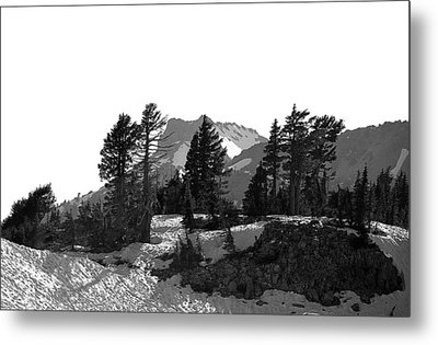 Metal Print featuring the photograph Lassen National Park by Lori Seaman