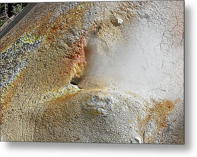 Lassen Volcanic National Park - Living Museum Of Vulcanism Metal Print by Christine Till