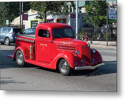 Last Chance Hose Company Metal Print by Suzanne Gaff