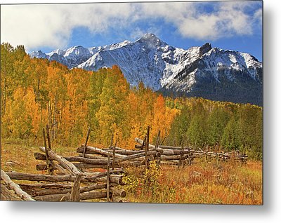 Metal Print featuring the photograph Last Dollar Road - Telluride - Colorado by Jason Politte
