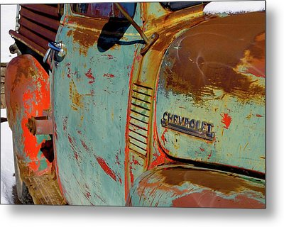 Chevy Custom Size Metal Print