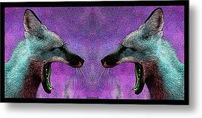 Last Laugh Metal Print by WB Johnston