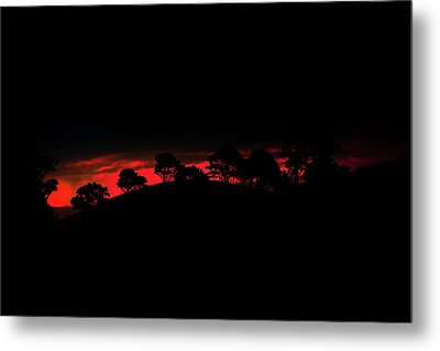 Last Light Metal Print by Az Jackson
