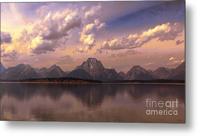 Metal Print featuring the photograph Last Light by Robert Pearson