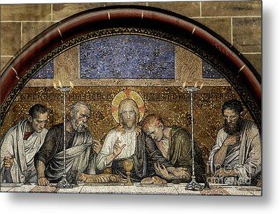 Last Supper Of Christ Metal Print by Adrian Hancu