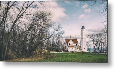 Late Afternoon At The Lighthouse Metal Print by Scott Norris