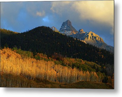 Metal Print featuring the photograph Late Afternoon Light On The San Juans by Jetson Nguyen