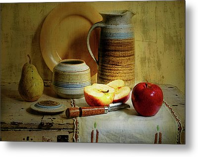 Metal Print featuring the photograph Late Day Break by Diana Angstadt