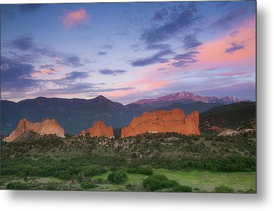 Metal Print featuring the photograph Late Spring Sunrise by Tim Reaves