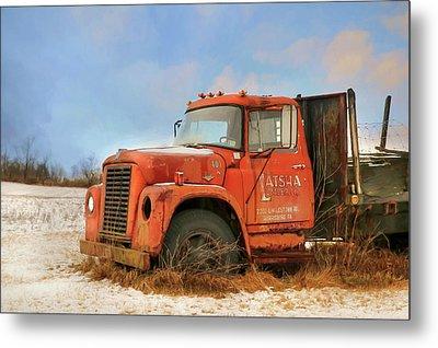 Metal Print featuring the photograph Latsha Lumber Truck by Lori Deiter