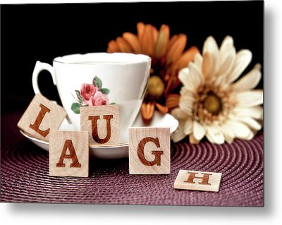 Laugh Metal Print by Tom Mc Nemar