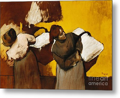 Laundresses Metal Print