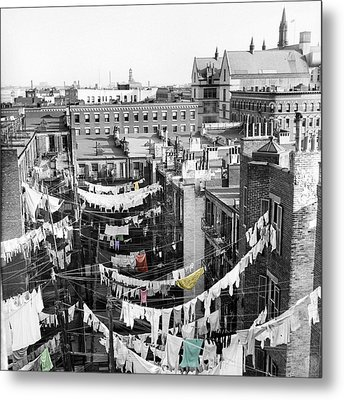 Laundry Day Metal Print by Andrew Fare