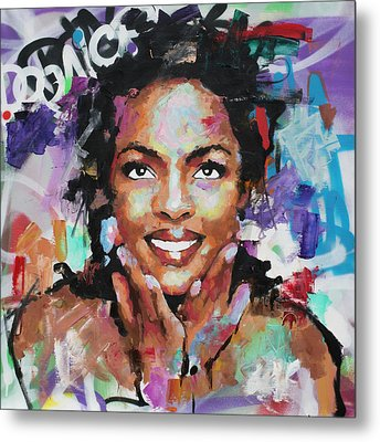 Lauryn Hill Metal Print
