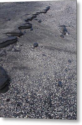 Lava And Shell Metal Print by Chad Natti