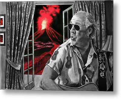 Lava Me Now Or Lava Me Not Metal Print by William Underwood