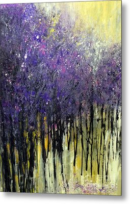 Metal Print featuring the painting Lavender Dreams by Priti Lathia