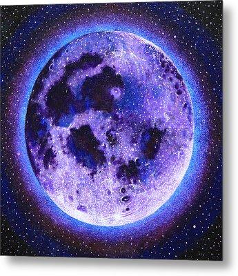 Lavender Moon Metal Print