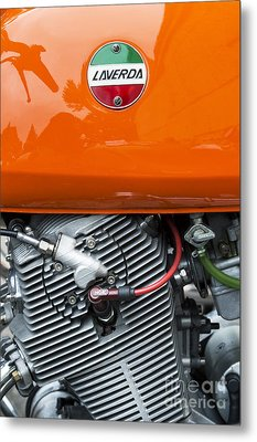 Laverda Sf 750cc Metal Print by Tim Gainey