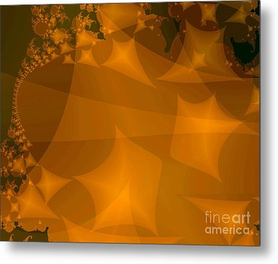Layered Kite Formations Metal Print by Ron Bissett