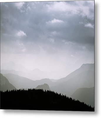 Metal Print featuring the photograph Layers And Light by Alexander Kunz