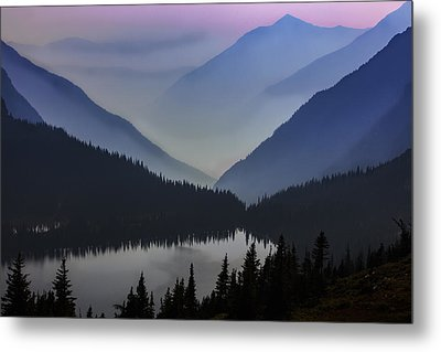 Layers Of Serenity Metal Print by Mike Lang
