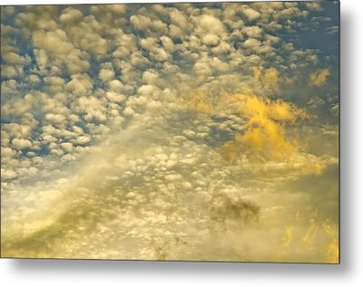 Metal Print featuring the photograph Layers Of Sky by Wanda Krack