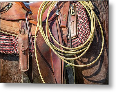 Layers Of Tack Metal Print by Todd Klassy