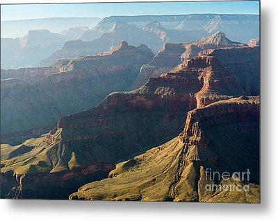 Layers Of The Canyon Metal Print by Jamie Pham