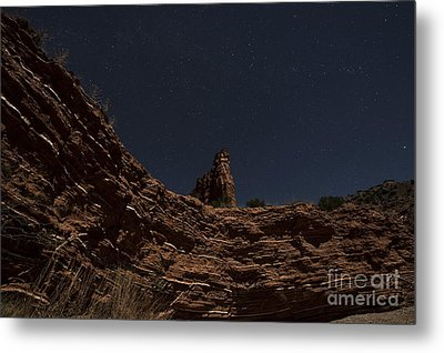 Layers Of Time Metal Print by Melany Sarafis