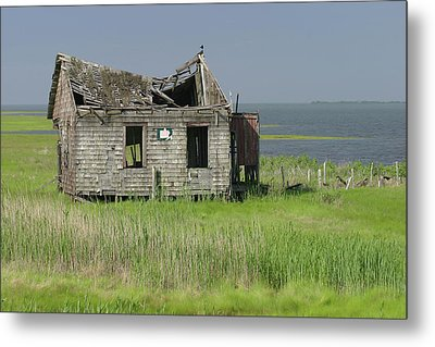 Long Beach Island Crab Shack Metal Print