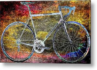 Le Champion Metal Print by Julie Niemela