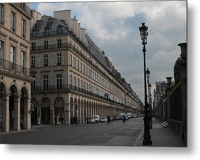 Metal Print featuring the photograph Le Meurice Hotel, Paris by Christopher Kirby
