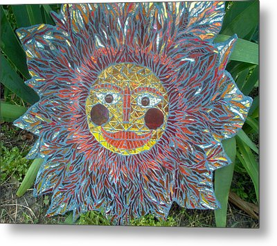 Le Soleil Metal Print by Kimberly Barrow
