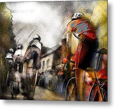 Le Tour De France 06 Metal Print by Miki De Goodaboom