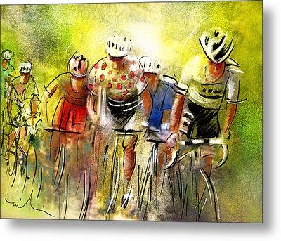 Le Tour De France 07 Metal Print