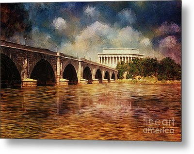 Leading To Lincoln Metal Print