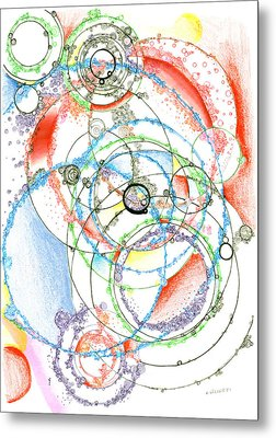 Leaky Realities Metal Print by Regina Valluzzi