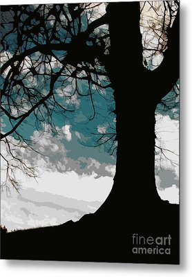 Leaping Spirit Metal Print