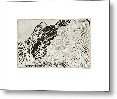 Learning To Love Rats More #1 Metal Print