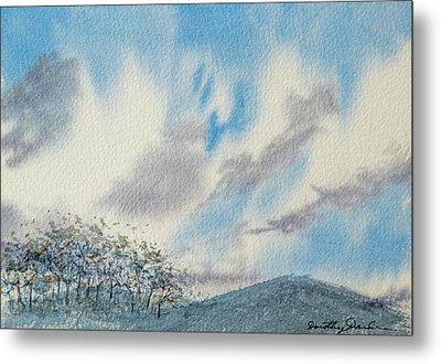 The Blue Hills Of Summer Metal Print