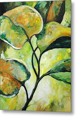 Leaves2 Metal Print by Chris Steinken