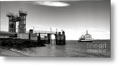 Leaving Lincolnville Metal Print by Olivier Le Queinec